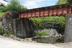 熊本地震後の寺坂水源