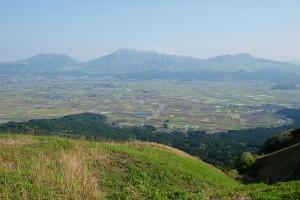 熊本地震後の大観峰から阿蘇一望