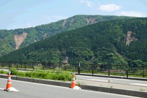立野〜瀬田地区の土砂崩れ