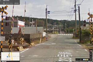 赤水ミルクロード入口交差点[右折して国道57号線ルートへ]