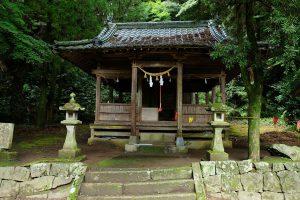 塩井神社[塩井社水源・南阿蘇村]