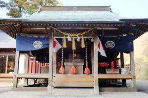 火災後新たに造営竣工された白川吉見神社