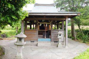 岩下神社(古くは三年妙見)[池の川水源・南阿蘇村]