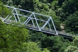 震災に堪えた菊池渓谷の橋[菊池阿蘇スカイライン・県道45号線]