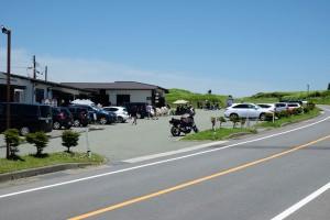 かぶと岩展望所の駐車場[ミルクロード・県道339号線]