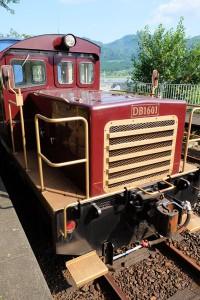 DB16形ディーゼル機関車[南阿蘇鉄道]