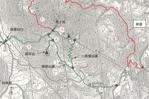 鶴見岳 登山規制地図〈大分県:2016年8月3日現在〉
