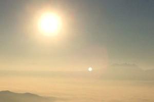 展望台からの朝日[大観峰・熊本阿蘇市]