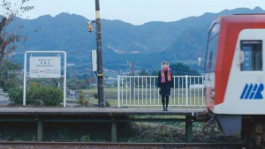 『午後の紅茶』南阿蘇ロケ地撮影[南阿蘇鉄道]