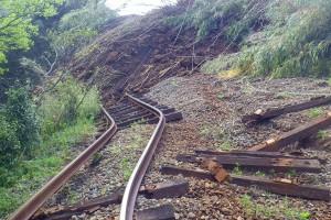 南阿蘇鉄道の線路被害[熊本地震・立野]