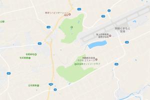 熊本空港周辺道路地図