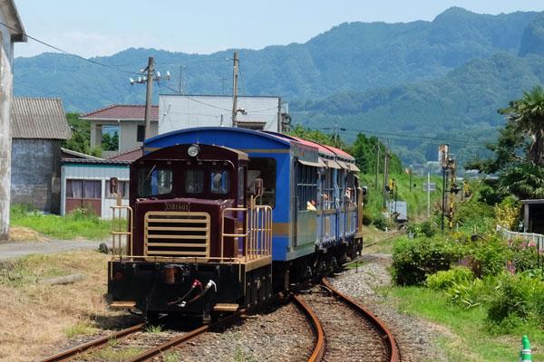トロッコ列車ゆうすげ号[南阿蘇鉄道]