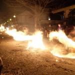 2017年3月22日現在:火振り神事[阿蘇神社]