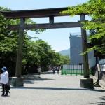 2017年5月28日現在:晴天夏日と花ごよみイベント[阿蘇神社]
