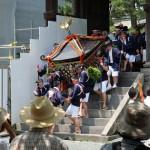 2017年7月28日現在:御田植神幸式(おんだ祭り)[阿蘇神社]