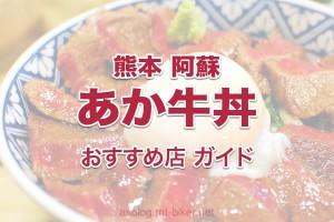 あか牛丼・赤牛肉料理[阿蘇 オススメ食事処]