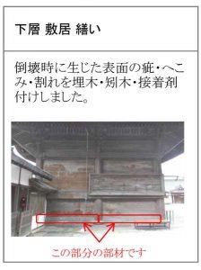 修復復旧工事[2020 阿蘇神社 現在状況]