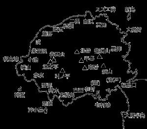 桜島の山々と地名[桜島 現在 観光]