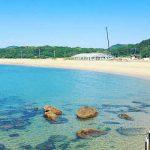 芥屋海水浴場[きれいな福岡 白浜ビーチ]