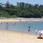 長崎鼻海水浴場[きれいな大分 白浜ビーチ]