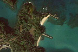 大島海水浴場[きれいな長崎 白浜ビーチ]