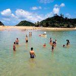 辰ノ島海水浴場[きれいな長崎 白浜ビーチ]