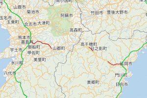 E77 九州中央自動車道ライブカメラ[宮崎地域]