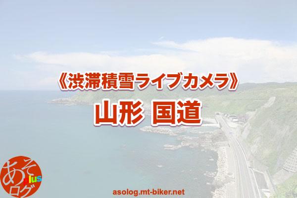 【山形 国道】渋滞積雪:道路状況カメラ